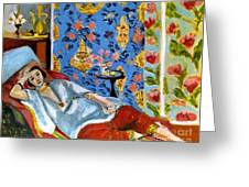 Matisse Odalisque 1922 Greeting Card by Granger
