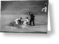 MAURY WILLS (1932- ) Greeting Card by Granger