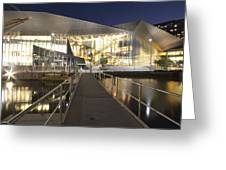 Melbourne Convention Center Greeting Card by Douglas Barnard