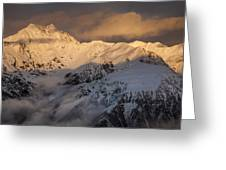 Mount Rolleston At Dawn Arthurs Pass Np Greeting Card by Colin Monteath