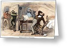 Murder Of Smith, 1844 Greeting Card by Granger