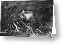 Mythology: Medusa Greeting Card by Granger