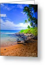 Napili Bay Maui Greeting Card by Kelly Wade
