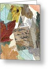 Note From Nature Greeting Card by Phillip  Jaeger