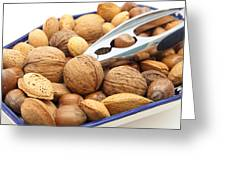 Nuts Greeting Card by Tom Gowanlock