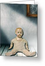 Old Doll Greeting Card by Joana Kruse