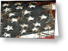 Old Glory Greeting Card by Bill Owen