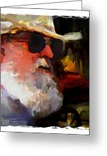Old Timer Greeting Card by Bob Salo