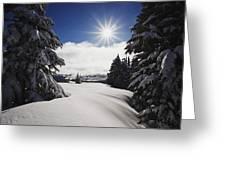 Oregon Cascades, Oregon, United States Greeting Card by Craig Tuttle