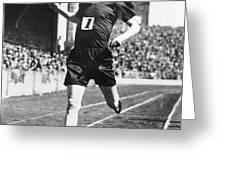 PAAVO NURMI (1897-1973) Greeting Card by Granger