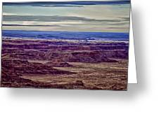 Painted Valley 2 Greeting Card by Dennis Sullivan