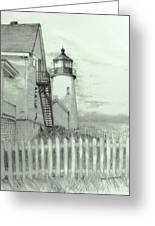 Pemaquid Lighthouse  Greeting Card by Jack Skinner