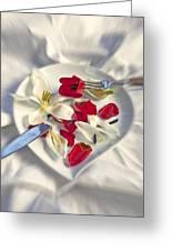 Petals Greeting Card by Joana Kruse