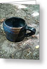 Petite Tea Cup Greeting Card by Emily Osborne