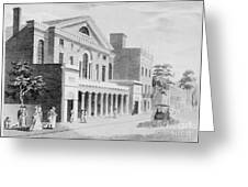 Philadelphia: Theater Greeting Card by Granger
