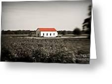 Plantation Church Greeting Card by Scott Pellegrin