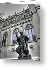 Pope John Paul I I Greeting Card by David Bearden