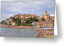 Porto Maurizio - Liguria Greeting Card by Joana Kruse