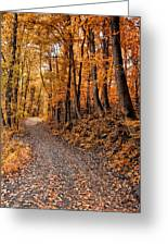 Ramble On Greeting Card by Bill Cannon