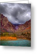 Red Rock Canyon Greeting Card by David Patterson
