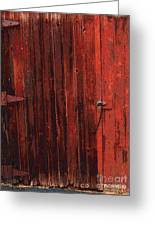 Red Shed Greeting Card by RC DeWinter