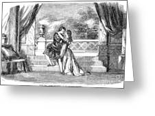 Romeo & Juliet Greeting Card by Granger