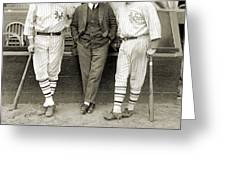 RUTH, DUNN AND BENTLEY Greeting Card by Granger