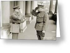 Ruth & Pershing, 1924 Greeting Card by Granger