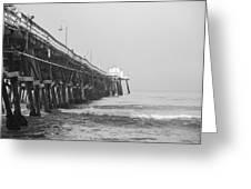 San Clemente Pier Greeting Card by Ralf Kaiser