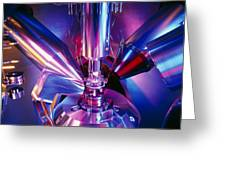 Scanning Electron Microscope Greeting Card by Colin Cuthbert