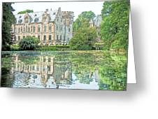 Schloss Paffendorf Germany Greeting Card by Joseph Hendrix