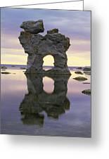 Sea Arch Greeting Card by Bjorn Svensson
