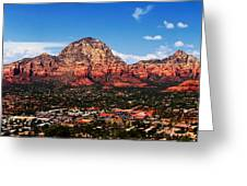 Sedona Red Rock Greeting Card by Lisa  Spencer