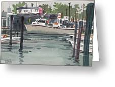 Shark River Inlet Greeting Card by Donald Maier
