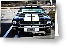 Shelby Gt350 Greeting Card by Andrew  Cragin