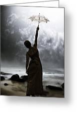 Silhouette Greeting Card by Joana Kruse