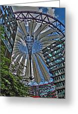 Sony Center - Berlin Greeting Card by Juergen Weiss
