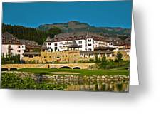 Spa Resort A-rosa - Kitzbuehel Greeting Card by Juergen Weiss