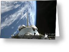 Space Shuttle Endeavours Payload Bay Greeting Card by Stocktrek Images