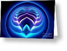 Spiral-3 Greeting Card by Klara Acel