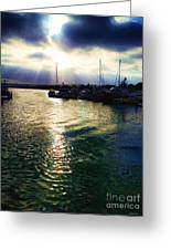 Stormy Skies Greeting Card by Cheryl Young