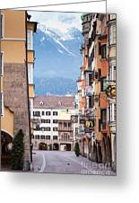 Streets Of Innsbruck Greeting Card by Andre Goncalves