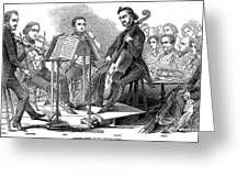 String Quartet, 1846 Greeting Card by Granger