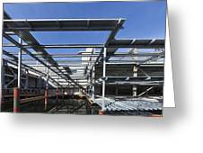 Structural Steel Construction Of An Greeting Card by Don Mason
