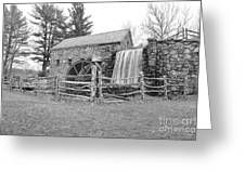Sudbury Grist Mill  Greeting Card by Catherine Reusch  Daley