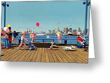 Sunday Morning Lonsdale Quay Greeting Card by Neil Woodward