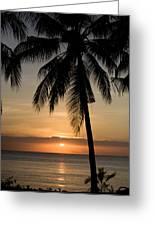 Sunrise At Bali Island Greeting Card by Tim Laman