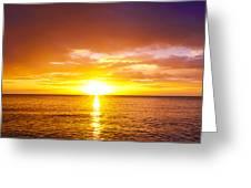 Sunrise Greeting Card by Svetlana Sewell
