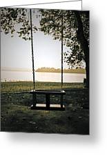 Swing Greeting Card by Joana Kruse