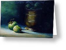Thai Eggplants Greeting Card by Alex Loza